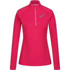 inov-8 Technical Mid Midlayer Con Mezza Zip Donna, pink